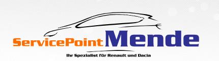 Logo von ServicePoint Mende