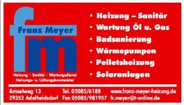 Franz Meyer Heizung-Sanitär und Wartungsdienst Adelheidsdorf