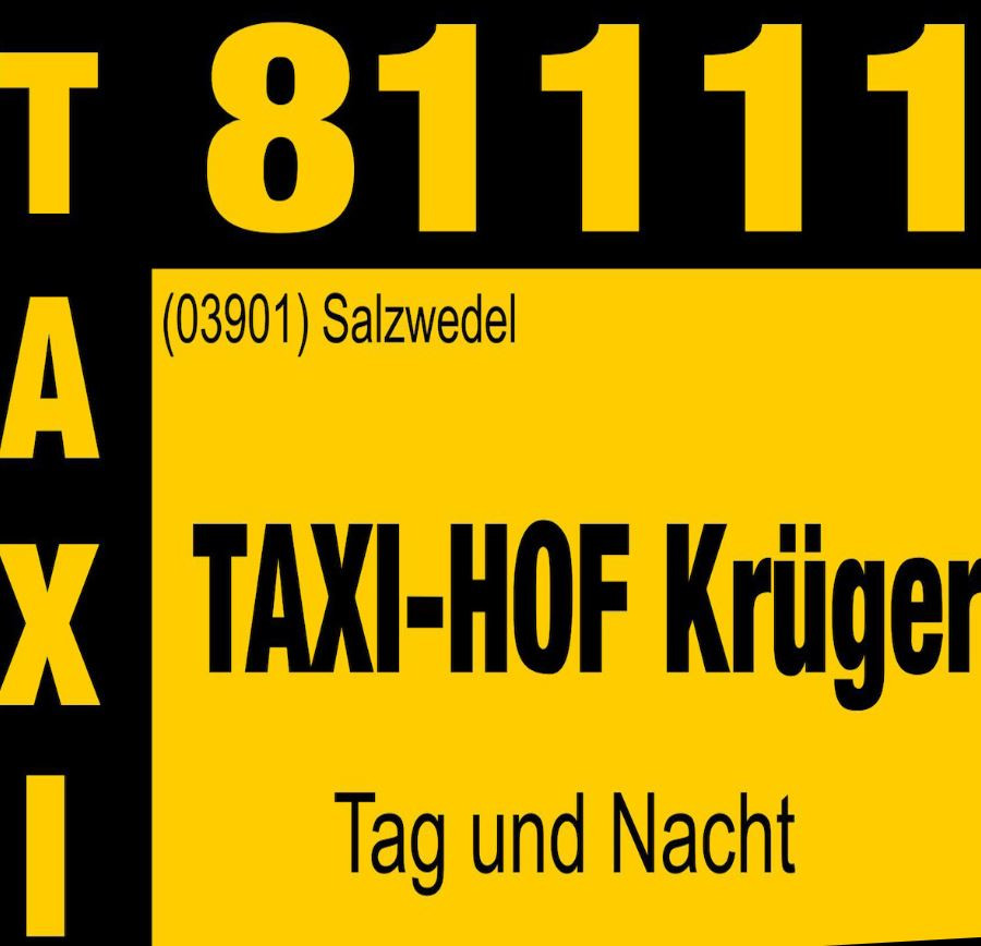 Bild zu Taxi - Hof Krüger in Hansestadt Salzwedel