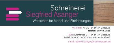 Bild zu Schreinerei Siegfried Asanger Moebel exquisit in Vilsbiburg