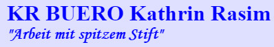 Bild zu Kathrin Rasim KR Buero in Dresden