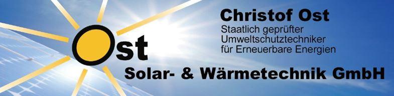 Bild zu Christof Ost Solar- und Wärmetechnik GmbH in Gründau