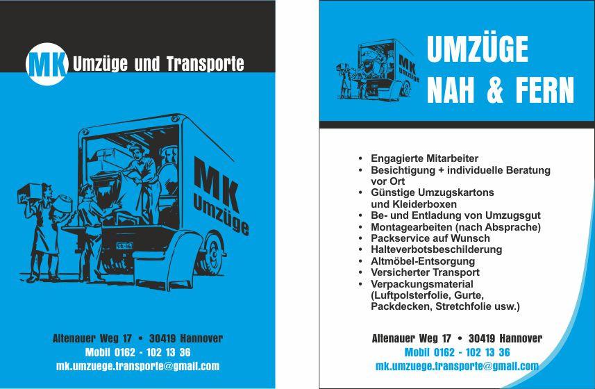 Bild zu MK Umzüge und Transporte in Hannover