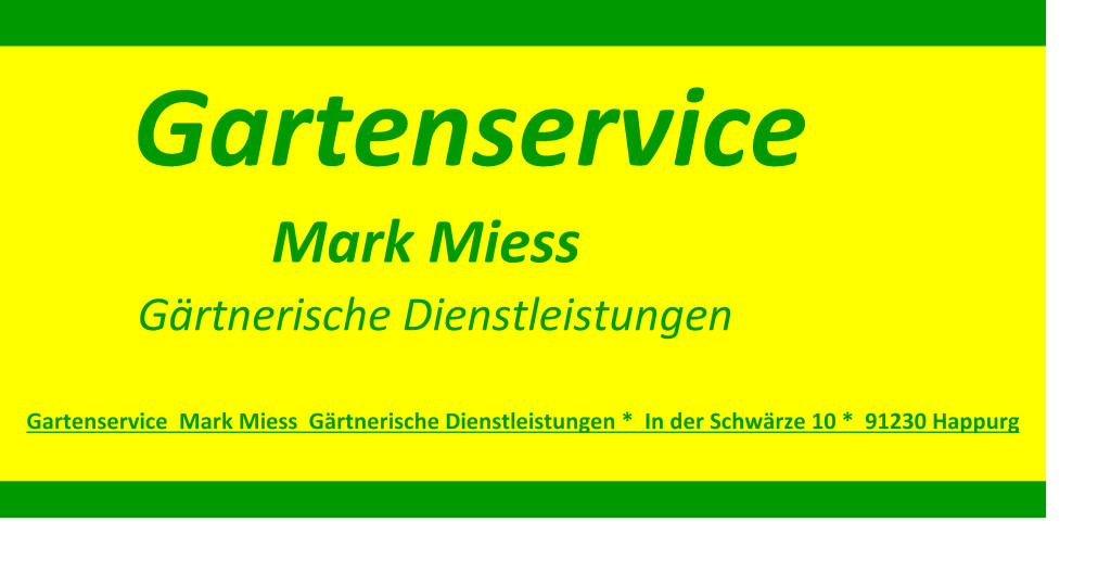 Bild zu Gartenservice Mark Miess in Happurg