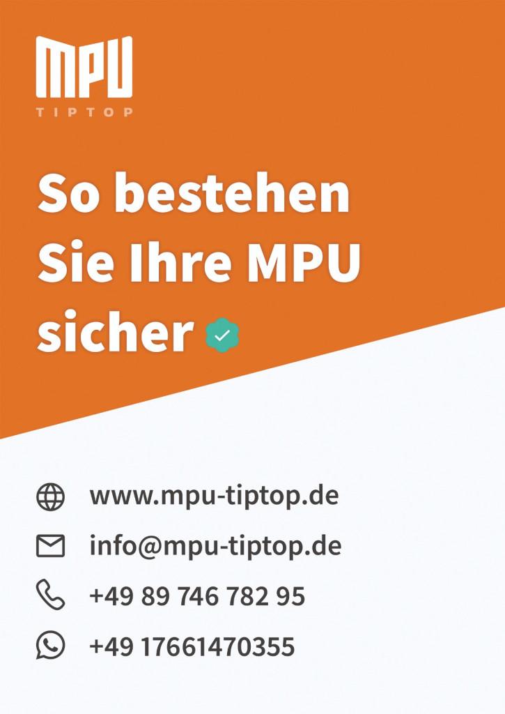 Bild zu MPU TipTop Vorbereitung - Verkehrspsychologische Beratungsstelle in München