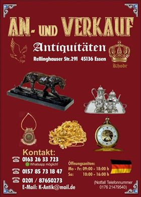 Bild zu K Antiquitäten An- und Verkauf in Essen
