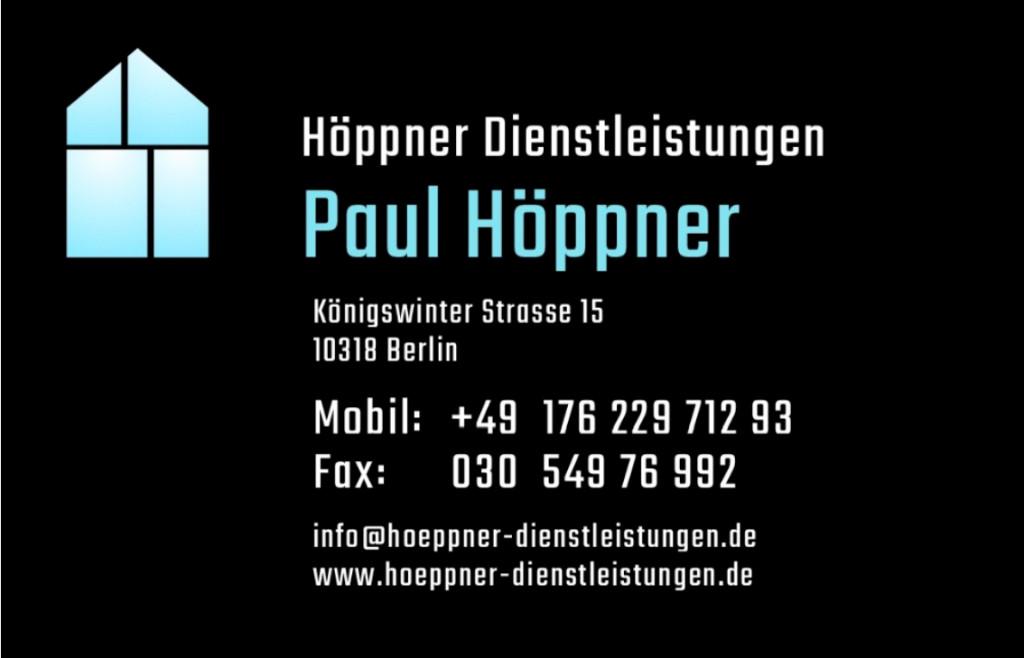 Bild zu Höppner Dienstleistungen in Berlin