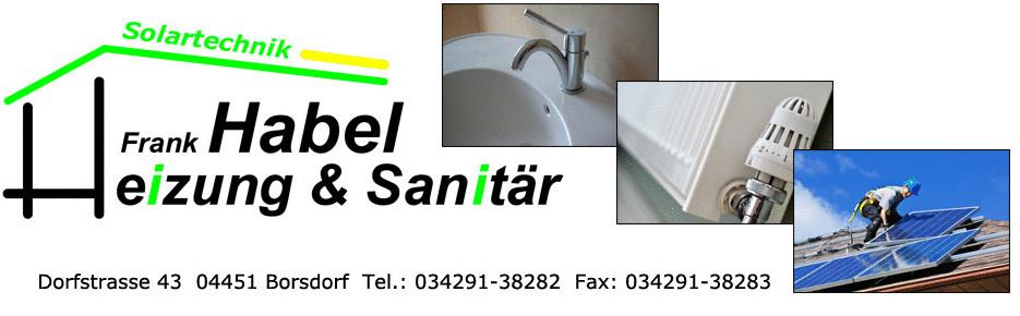 Bild zu Frank Habel - Heizung - Sanitär in Borsdorf