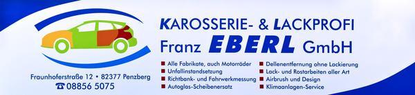 Bild zu Karosserie- und Lackprofi Franz Eberl in Penzberg