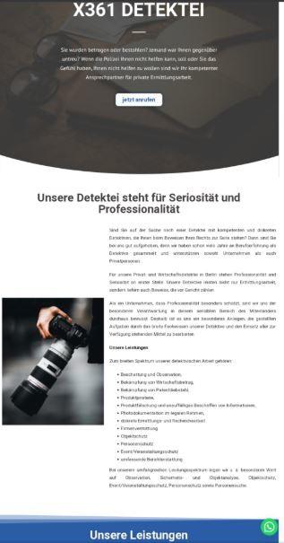 Bild zu X361 DETEKTEI in Berlin