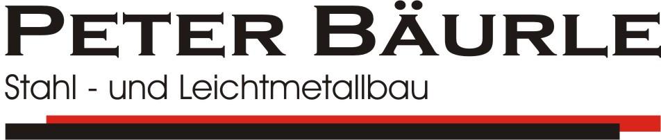 Bild zu Peter Bäurle Stahl- und Leichtmetallbau in Bibertal