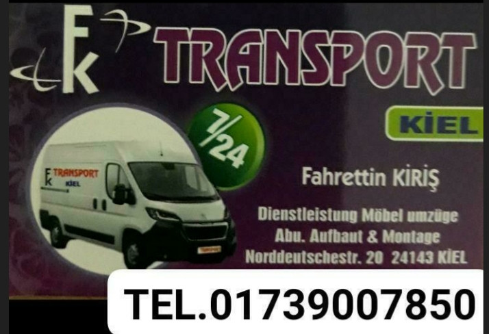 Bild zu FK TRANSPORT Dienstleistung Kiel in Kiel