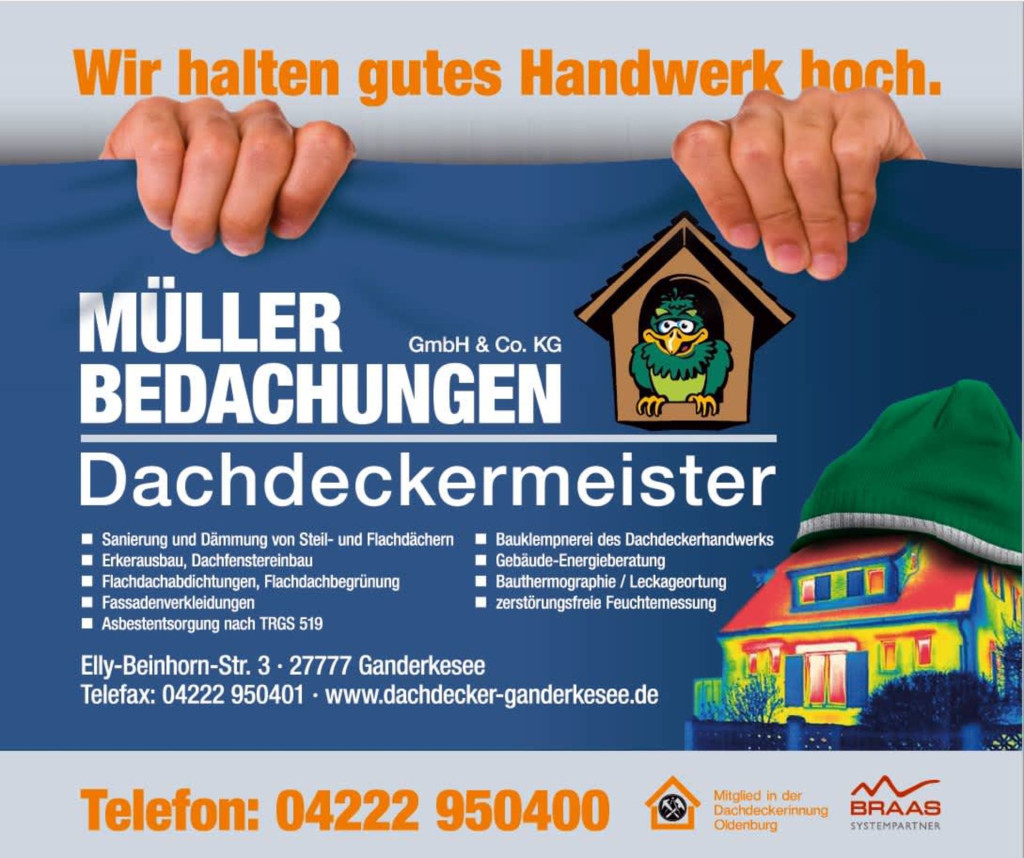 Bild zu Müller Bedachungen GmbH & Co. KG in Ganderkesee