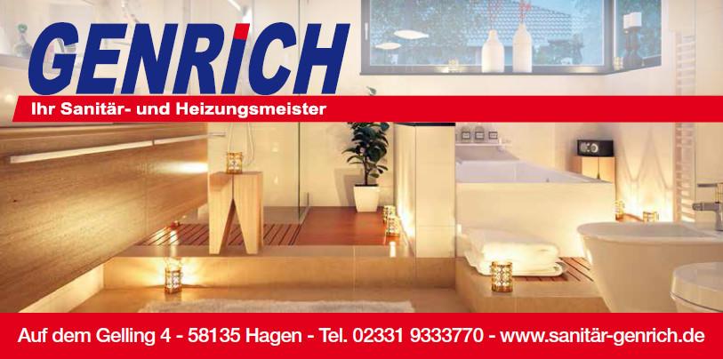 Bild zu Christian Genrich Ihr Sanitär- und Heizungsmeister in Hagen in Westfalen