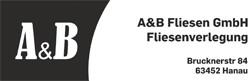 Bild zu A&B Fliesen GmbH in Hanau
