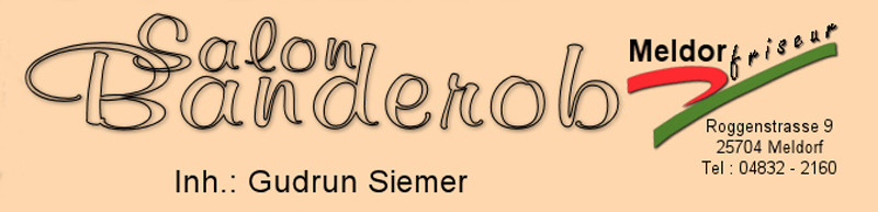 Logo von Salon Banderob Inh. Gudrun Siemer Friseur