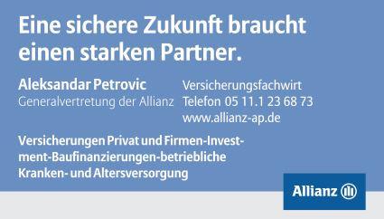 Bild zu Allianz Generalvertretung Aleksandar Petrovic in Hannover