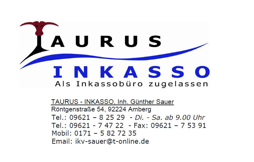 Bild zu Taurus-Inkasso in Amberg in der Oberpfalz