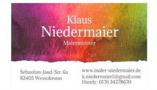 Bild zu Klaus Niedermaier Malerbetrieb in Wessobrunn
