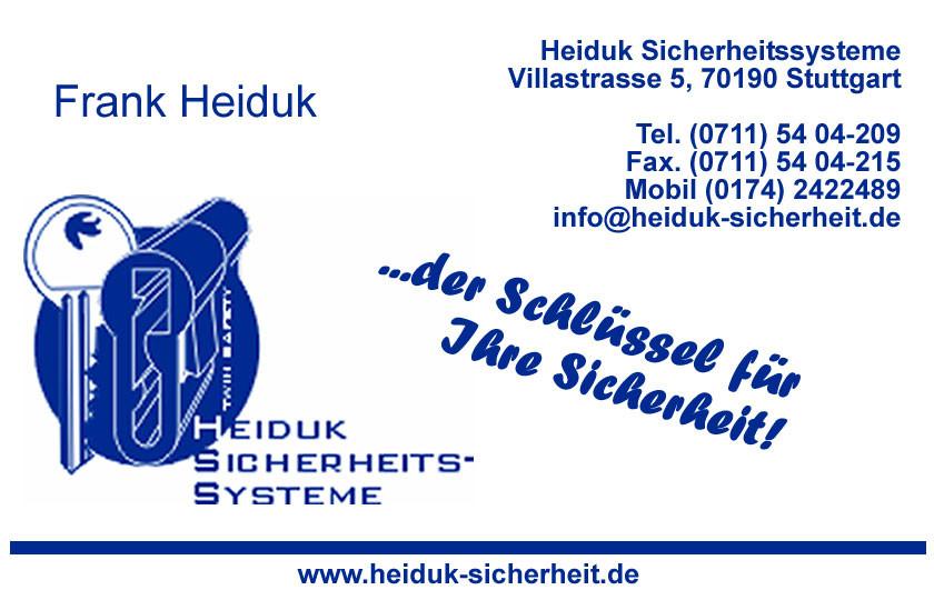 Bild zu Heiduk Sicherheitssysteme in Pfedelbach