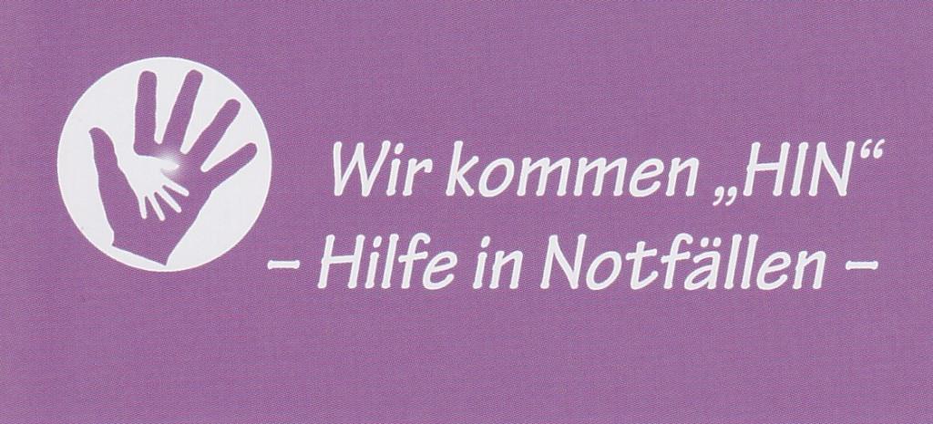 """Bild zu Wir kommen """"HIN"""" - Hilfe in Notfällen - in Bochum"""