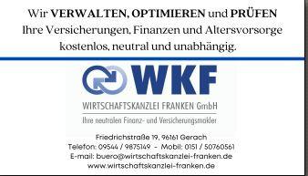 Bild zu WKF Wirtschaftskanzlei Franken GmbH in Bischberg