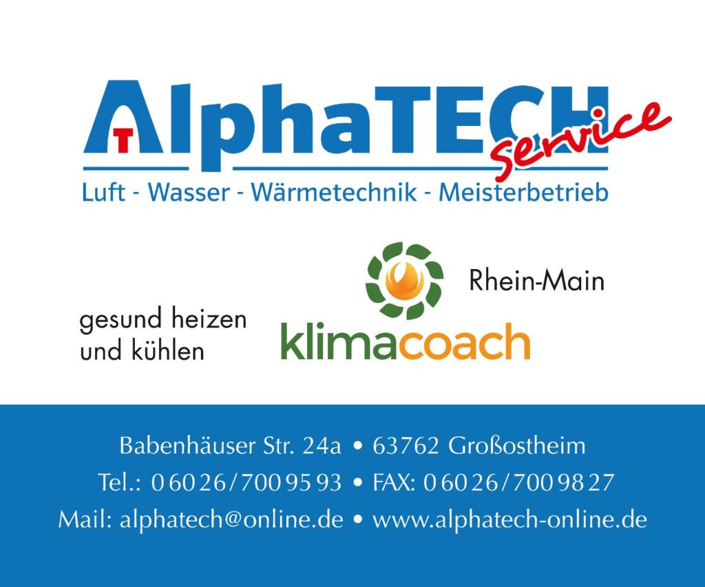 Bild zu Alpha TECH SERVICE LUFT-WASSER-WÄRMETECHNIK UG in Großostheim