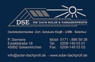 Bild zu DSE- Die Dach-Solar & Fassadenprofis in Gelsenkirchen