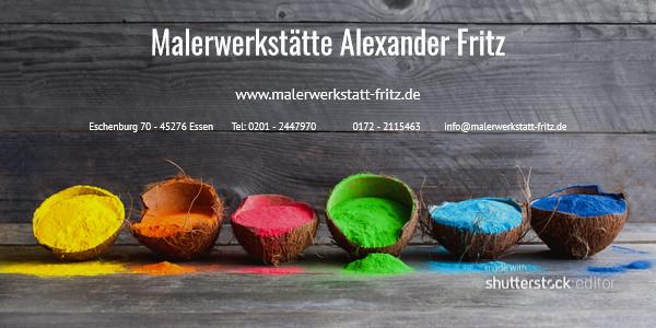 Bild zu Malerwerkstätte Alexander Fritz in Essen