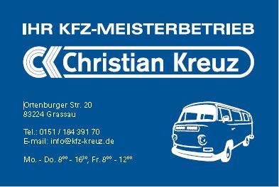 Bild zu Kfz.-Meisterbetrieb Christian Kreuz in Grassau Kreis Traunstein
