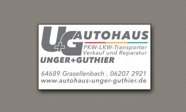 Bild zu Autohaus Unger+Guthier GmbH in Grasellenbach