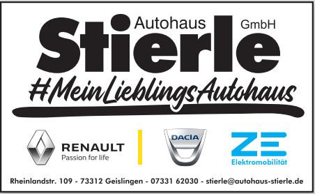 Bild zu Autohaus Stierle GmbH in Geislingen an der Steige