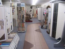 Ausstellungsraum für Fliesen und Kacheln