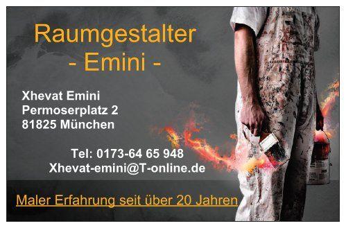 Bild zu Emini Raumgestalter in München