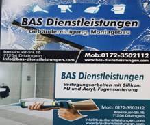 Bild zu BAS Dienstleistungen Ihn. Bashkim Beqiri in Ditzingen