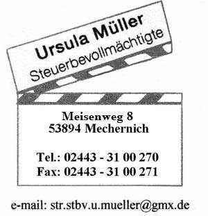 Bild zu Ursula Müller Steuerbevollmächtigte in Mechernich