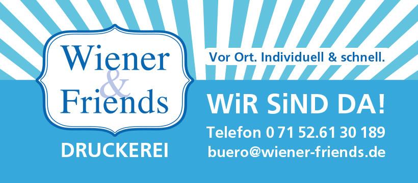 Bild zu Wiener and Friends GmbH in Rutesheim
