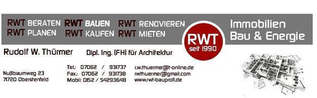 Bild zu Dipl.-Ing.(FH) Rudolf W. Thürmer Architektur in Oberstenfeld