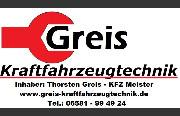 Logo von Greis Kraftfahrzeugtechnik