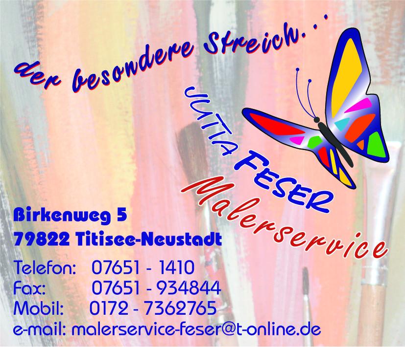 Bild zu Malerservice Jutta Feser in Titisee Neustadt