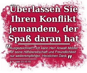 Bild zu Fachanwalt für Arbeitsrecht & Mietrecht Köln Lars Middel in Köln