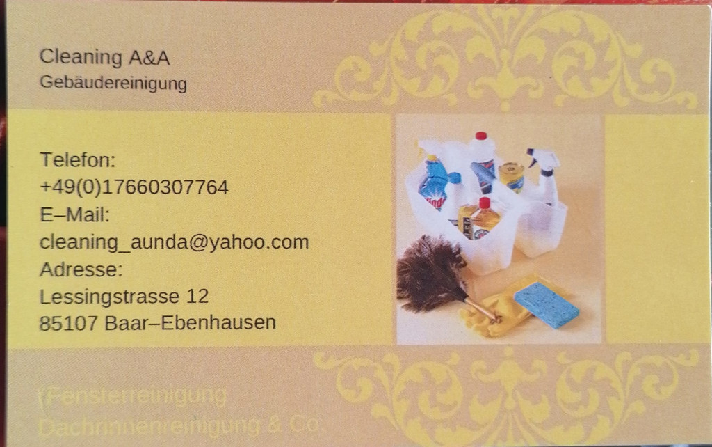 Bild zu Cleaning A & A in Baar Ebenhausen