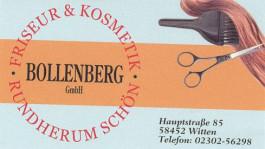 Friseur und Kosmetik Bollenberg GmbH - Visitenkarte