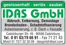 Idas GmbH Inh. D. Huber Cadolzburg