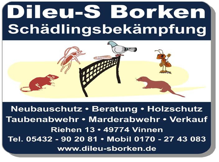 K Chen Borken dileu s borken schädlingsbekämpfung in lähden branchenbuch deutschland