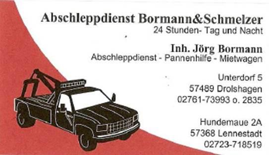 Logo von Abschleppdienst Jörg Bormann