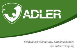 Adler Schädlingsbekämpfung, Entrümpelungen und Tatortreinigung