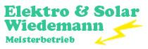 Elektro & Solar Wiedemann Meisterbetrieb Scheuring