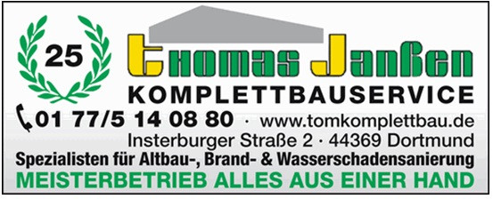 Bild zu Komplettbauservice Thomas Janßen in Dortmund