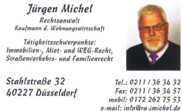Jürgen Michel Rechtsanwalt Düsseldorf